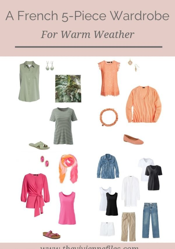 A FRENCH 5-PIECE CAPSULE WARDROBE FOR WARM WEATHER
