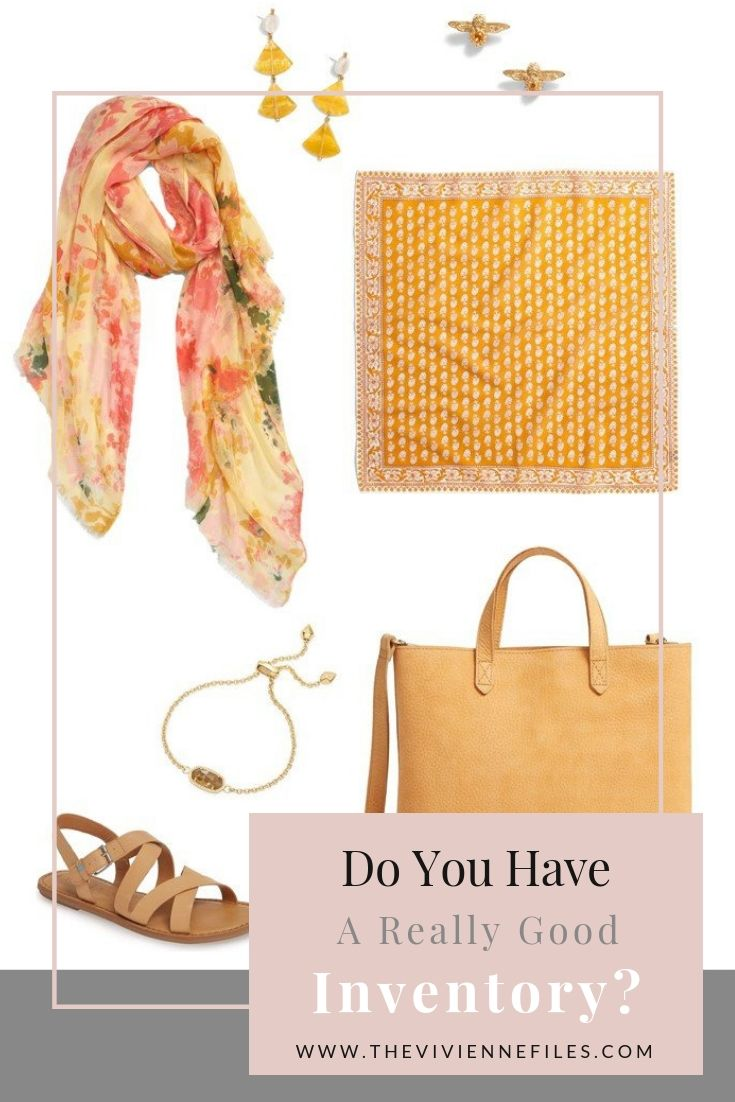 CREATE A CLOTHING AND ACCESSORY INVENTORY