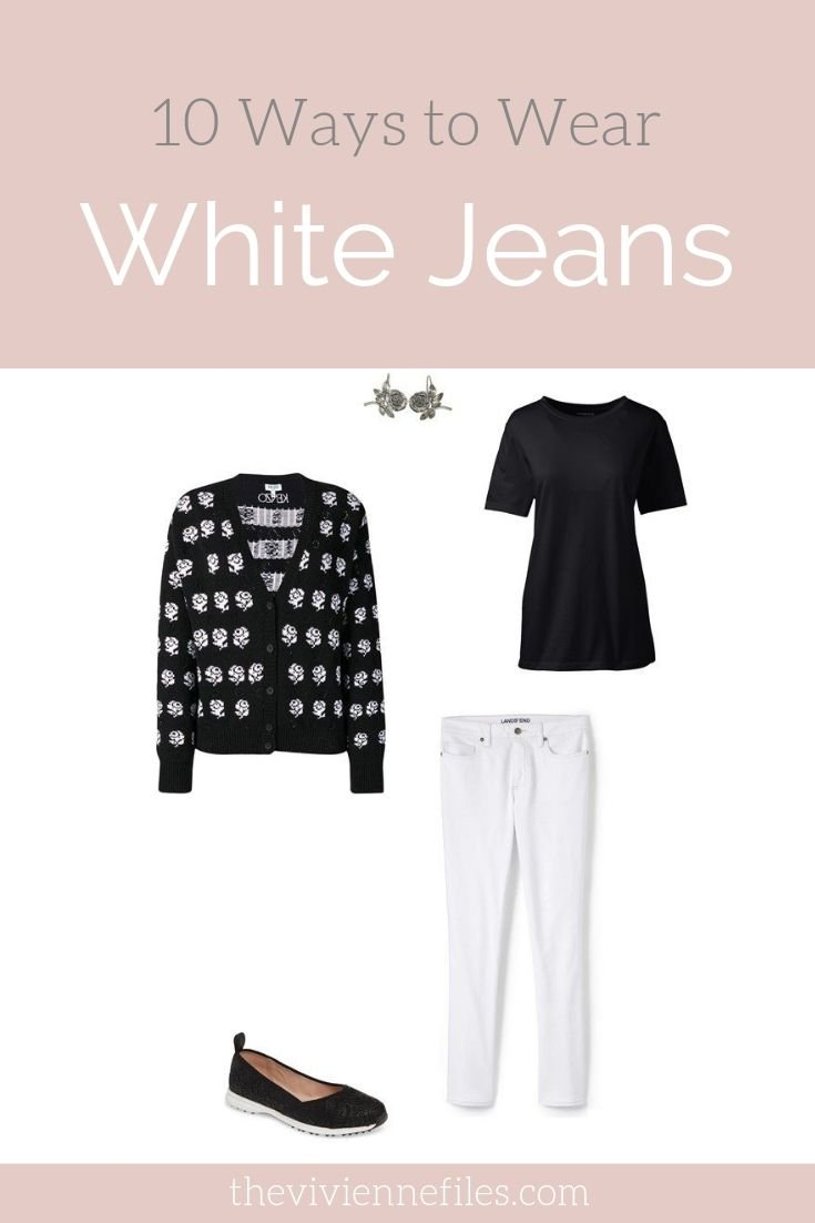 10 WAYS TO WEAR WHITE JEANS