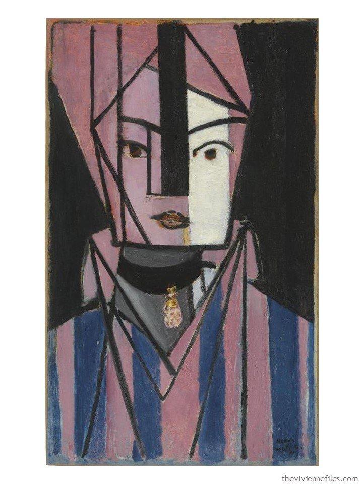 1. Tete Blanche et Rose by Matisse