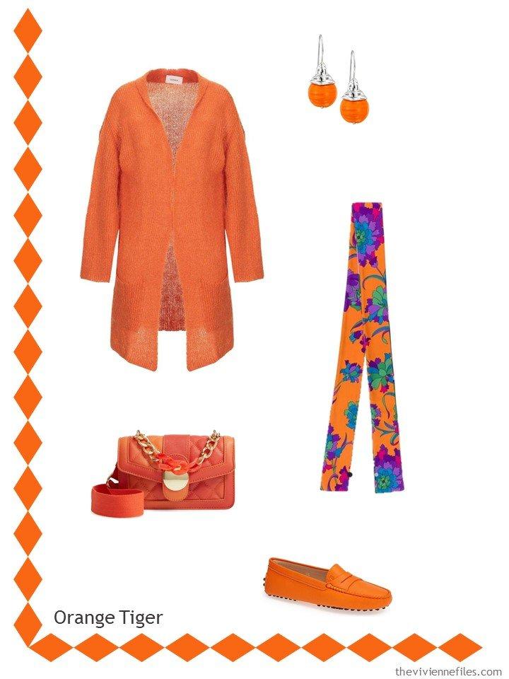 11. Orange Tiger Accessory Family