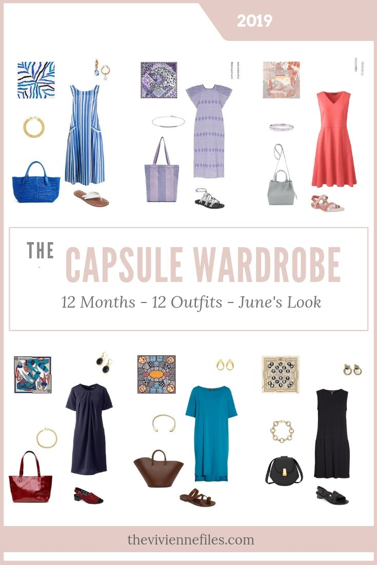 CREATE A CAPSULE WARDROBE BASED ON 6 HERMES SCARVES