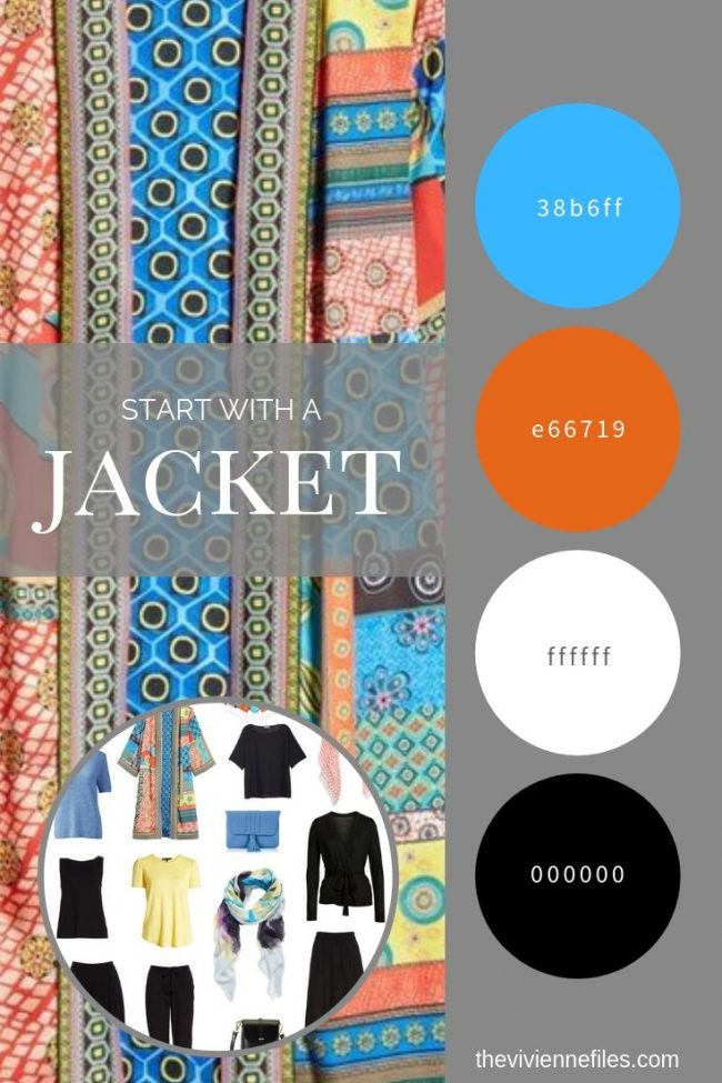 Create a Travel Capsule Wardrobe Inspired by a Jacket - Travel Six-Pack
