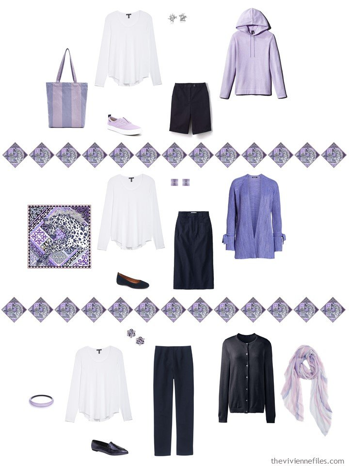 11. adding a white top to a capsule wardrobe