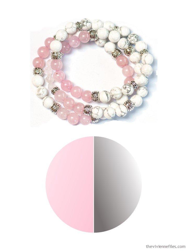 2. Fierce Lynx Designs bracelet with color palette