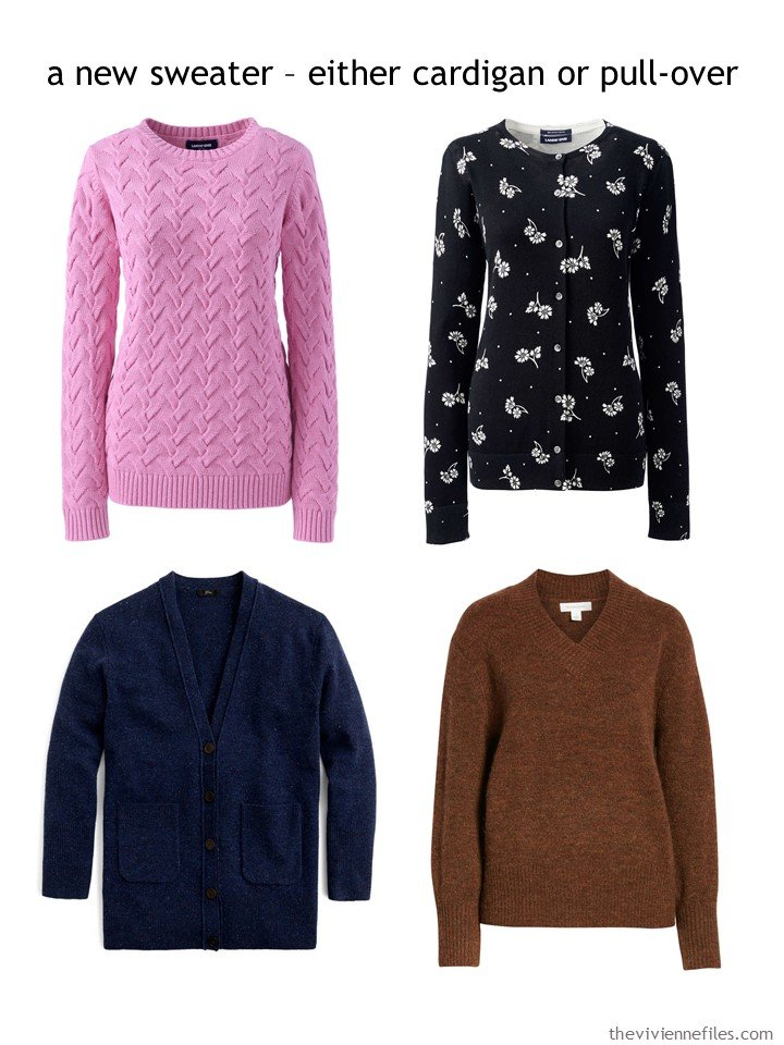 3. choosing a sweater for autumn 2019