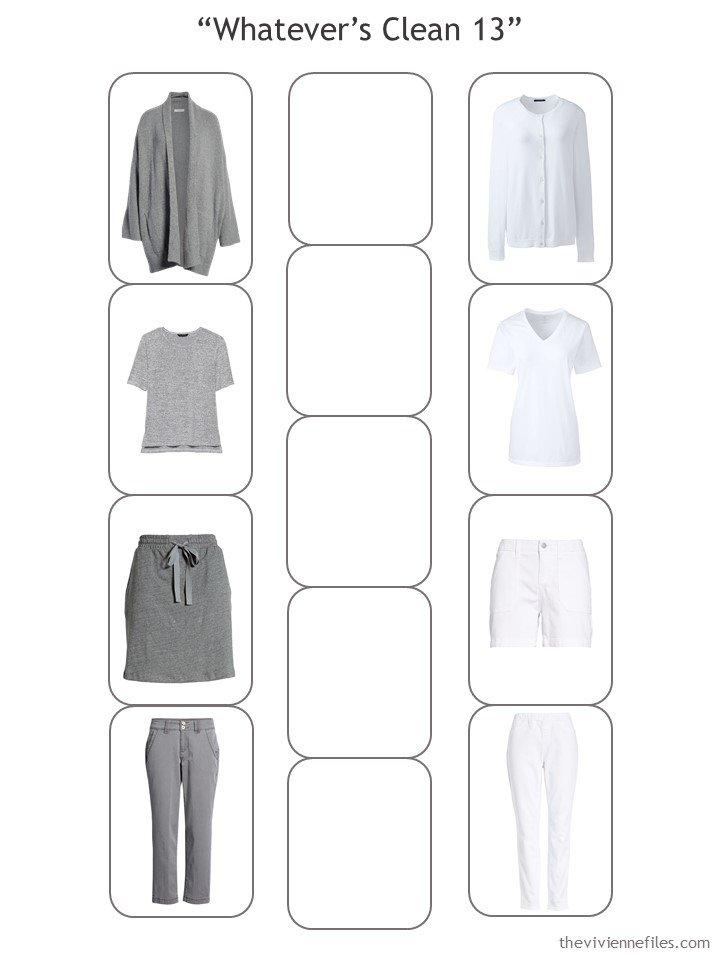 5. a Whatevers Clean 13 Wardrobe in progress