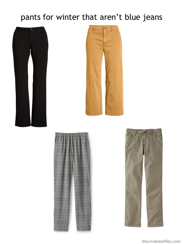 5. choosing a pair of pants for autumn 2019