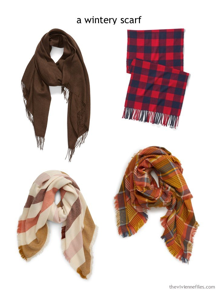 7. choosing a warm scarf for autumn 2019