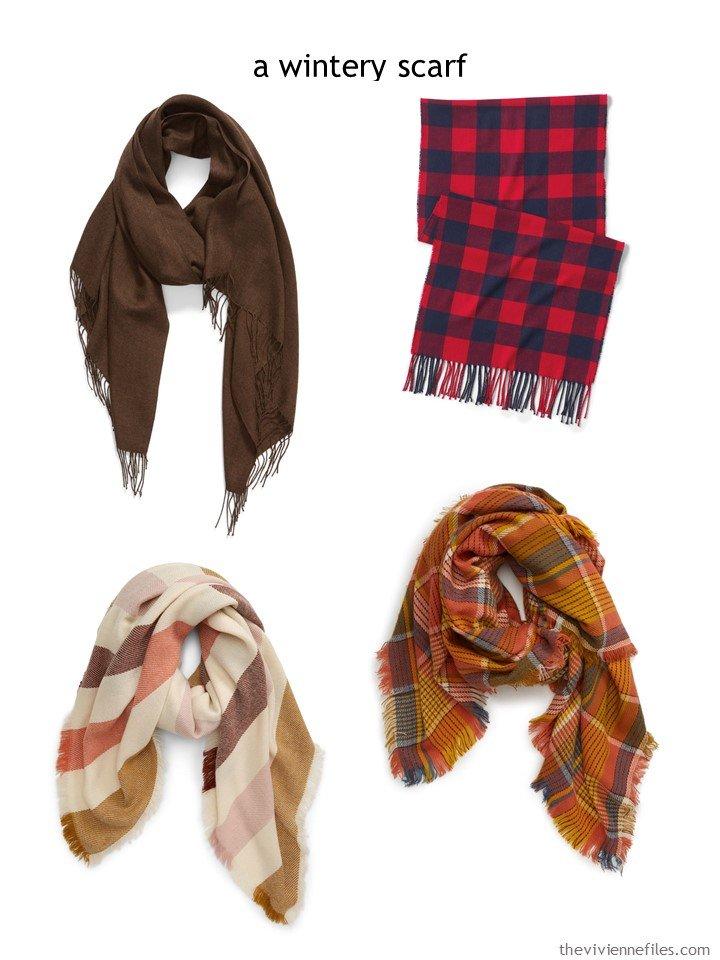 7. choosing a warm scarf for autumn 2019