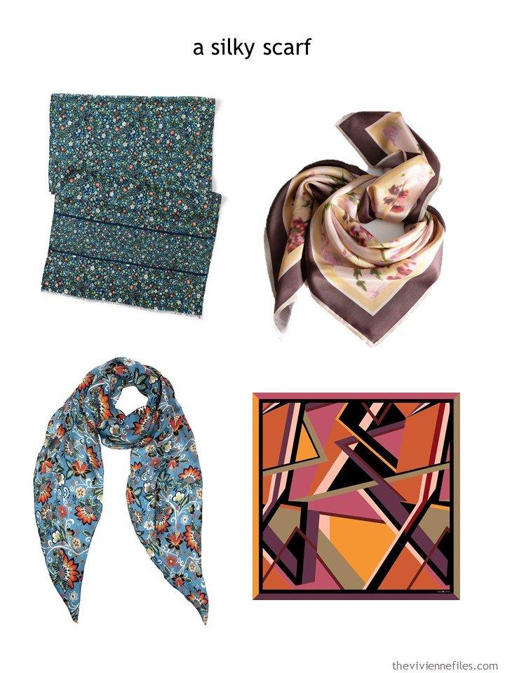 8. choosing a silky scarf for autumn 2019