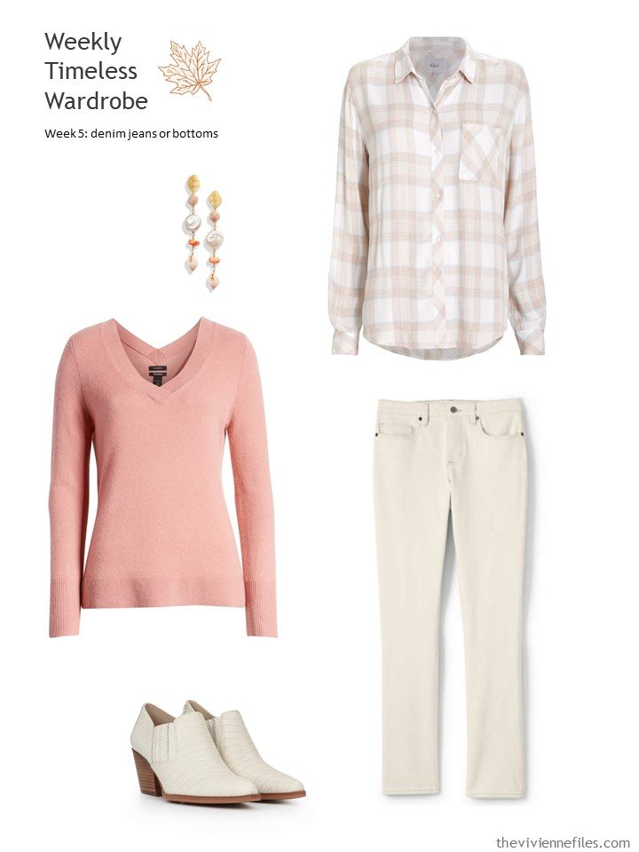 8. outfit based on ivory jeans