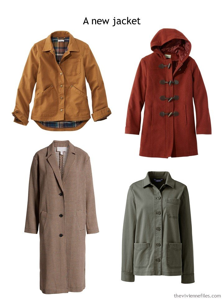 9. choosing a coat or jacket for autumn 2019