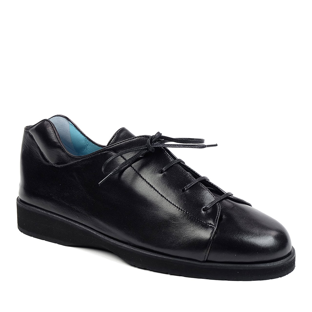 Hanigs shoes black blucher oxfords
