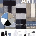 CREATE A TRAVEL CAPSULE WARDROBE - START WITH ART: WALL OF LIGHT WHITE BY SEAN SCULLY