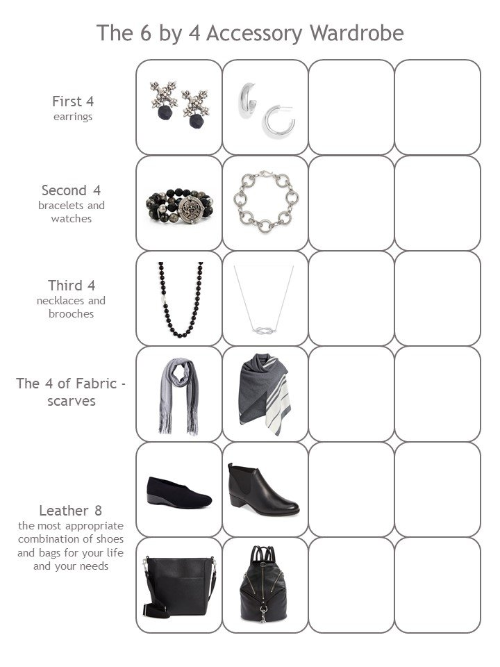 4. half full 4 cluster accessory wardrobe template