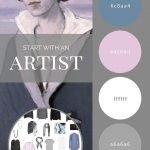 "CREATE A TRAVEL CAPSULE WARDROBE WITH MULTIPLE ""MOODS"" OR ACCENT COLORS - START WITH AN ARTIST ROMAINE BROOKS"