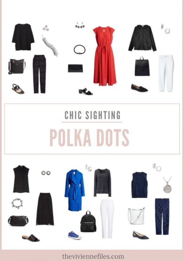 CHIC SIGHTINGS: POLKA DOTS!