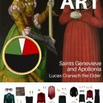 START WITH ART: A TRAVEL CAPSULE WARDROBE BASED ON SAINTS GENEVIEVE AND APOLLONIA BY LUCAS CRANACH THE ELDER