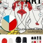 BUILD A TRAVEL CAPSULE WARDROBE STARTING WITH ART - DOUBLE VISION 1974 BY EDWINA SANDYS