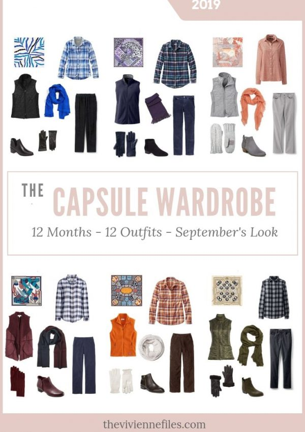 BUILD A TRAVEL CAPSULE WARDROBE BASED ON 6 HERMES SCARVES