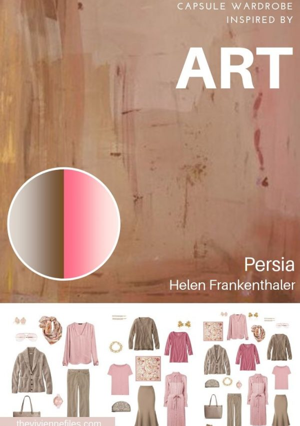 BUILD A TRAVEL CAPSULE WARDROBE INSPIRED BY ART: REVISITING PERSIA, BY HELEN FRANKENTHALER