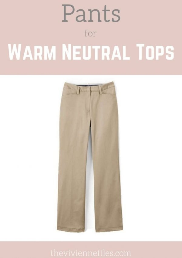 What Pants Go With my Warm Neutral Tops