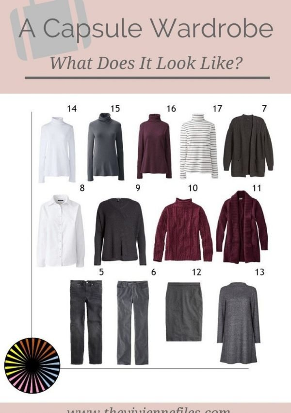 WHAT DOES A CAPSULE WARDROBE LOOK LIKE? 3 EXAMPLES OF WEEKLY TIMELESS WARDROBES