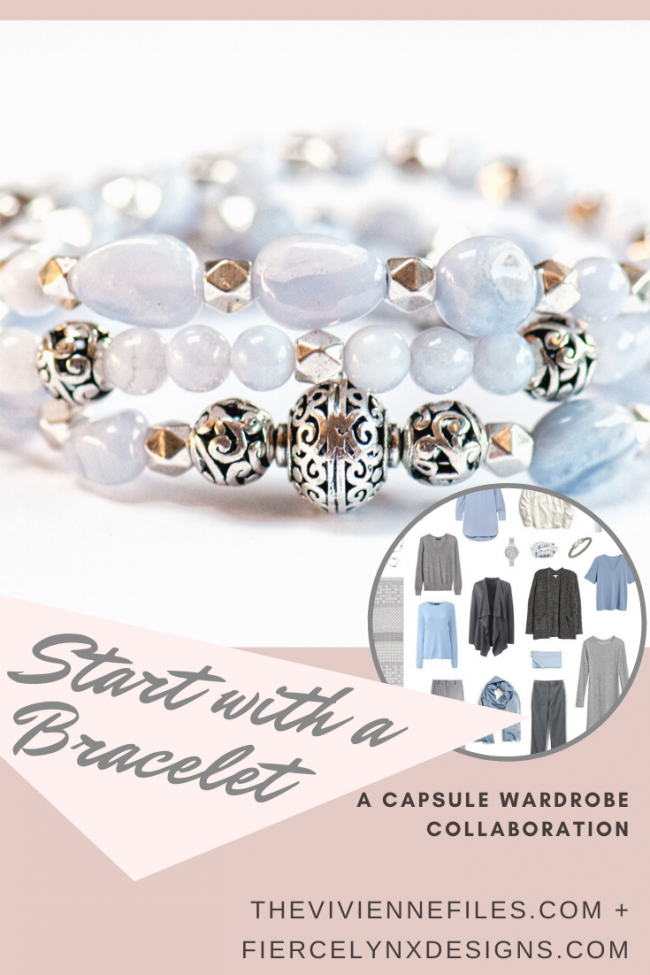 How to build a capsule wardrobe starting with a bracelet