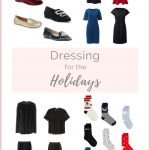 DRESSING FOR THE WINTER HOLIDAYS – FESTIVE BUT NOT FOOLISH
