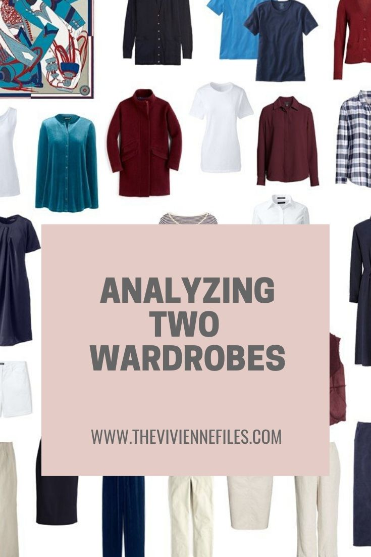 ANALYZING 2 WARDROBES: TOO FEW COLORS? OR TOO MANY?