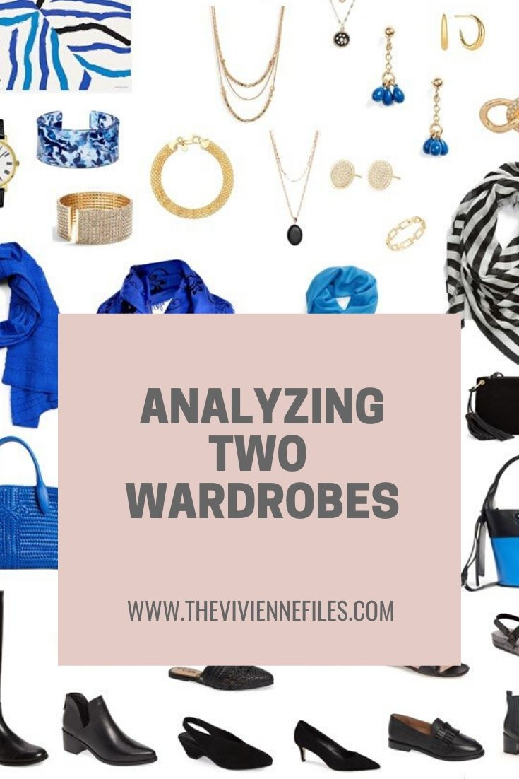 ANALYZING 2 WARDROBES: WHEN EVERYTHING LOOKS PRETTY GOOD…