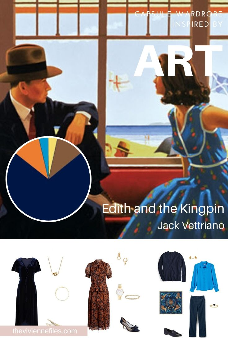 CREATE A TRAVEL CAPSULE WARDROBE FOR THE HOLIDAYS WITH EDITH AND THE KINGPIN, BY JACK VETRIANO