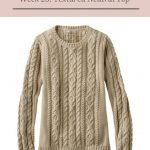 THE WEEKLY TIMELESS WARDROBE, WEEK 23: A TEXTURED NEUTRAL TOP
