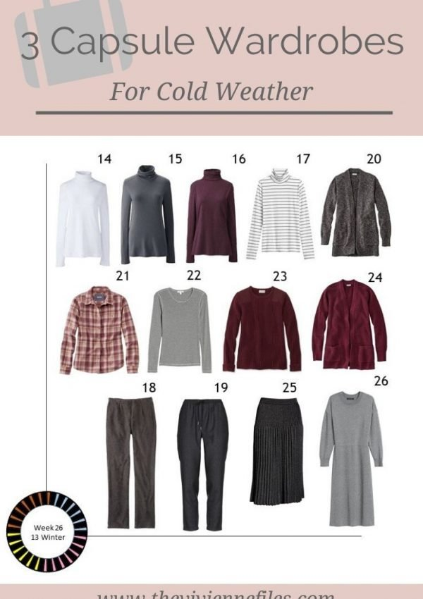 WHAT DOES A WINTER CAPSULE WARDROBE LOOK LIKE? 3 IDEAS, STARTING WITH ART!