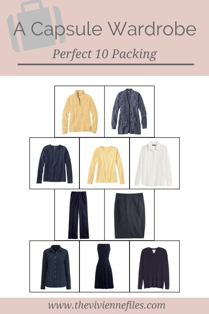 A PERFECT 10 PACKING CAPSULE WARDROBE
