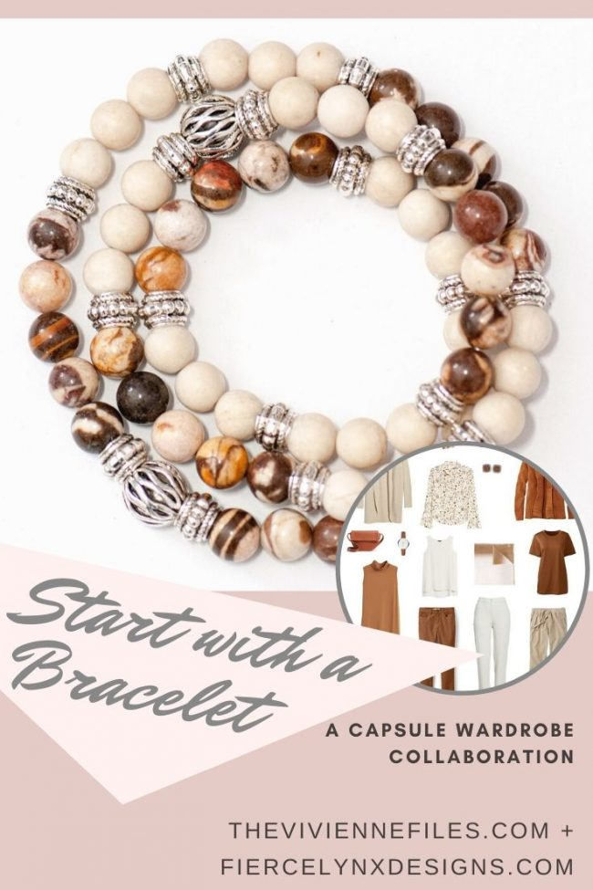 How to Build a Travel Capsule Wardrobe by Starting with a Bracelet – January