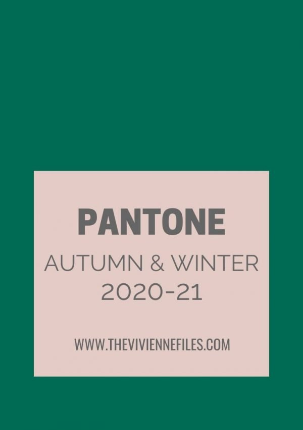 New Colors – Pantone New York Fashion Week Autumn_Winter 2020_21 colors