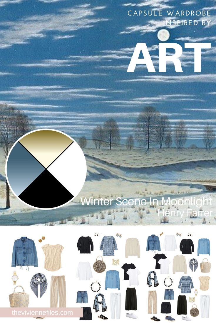 REVISITING A START WITH ART: WINTER SCENE IN MOONLIGHT BY HENRY FARRER