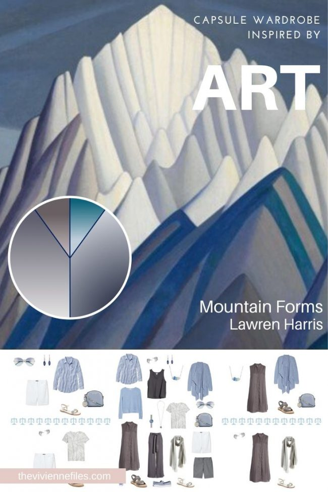Start with Art: Mountain Forms by Lawren Harris