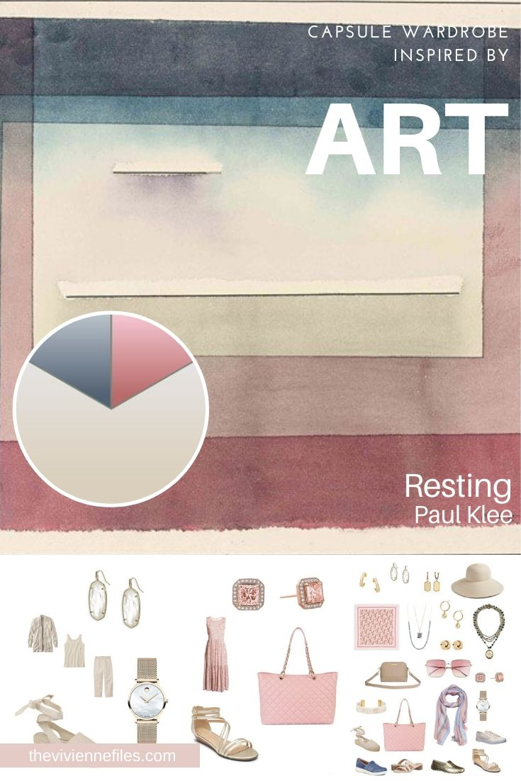 ACCESSORIES! START WITH ART: RESTING BY PAUL KLEE