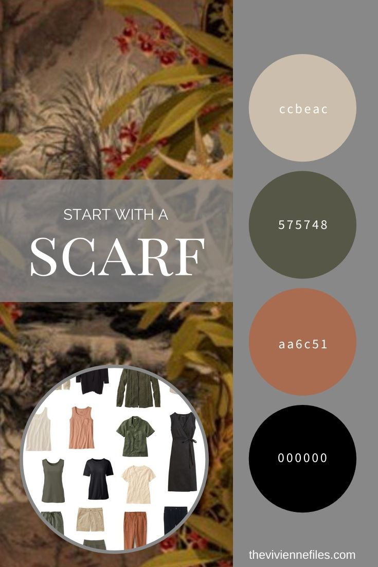 ONE WAY TO EXPAND A TRAVEL CAPSULE WARDROBE – CLOUD RAINFOREST SCARF BY KLEMENTS