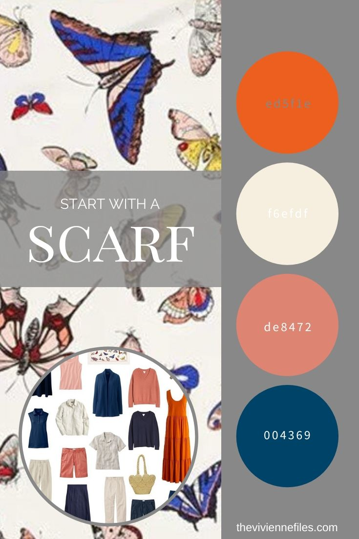 START WITH A SCARF_ BUTTERFLIES BY ECHO