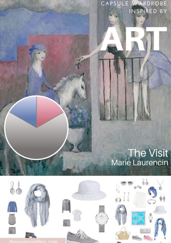 ACCESSORIES! START WITH ART – THE VISIT BY MARIE LAURENCIN