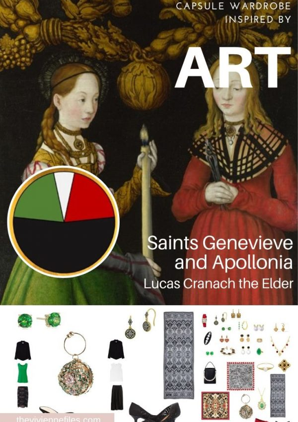 ADDING ACCESSORIES: SAINTS GENEVIEVE AND APOLLONIA BY LUCAS CRANACH THE ELDER