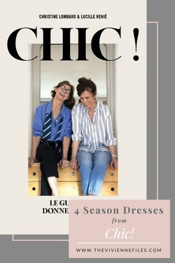 RAIDING MY FRENCH BOOKS_ 4 SEASON DRESSES FROM CHIC! BY CHRISTINE LOMBARD & LUCILLE RENIÉ
