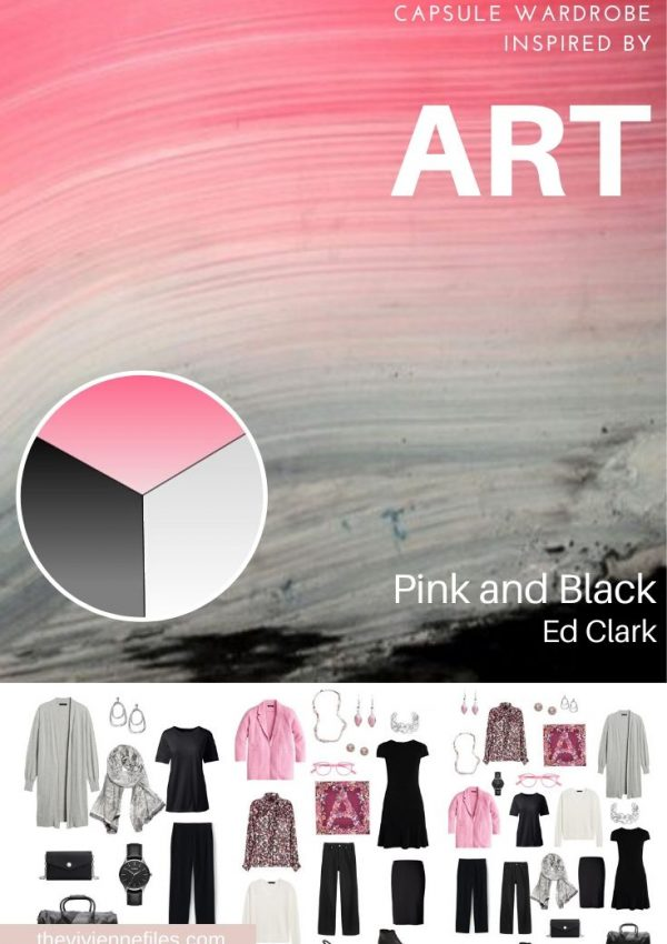 START WITH ART: PINK AND BLACK BY ED CLARK