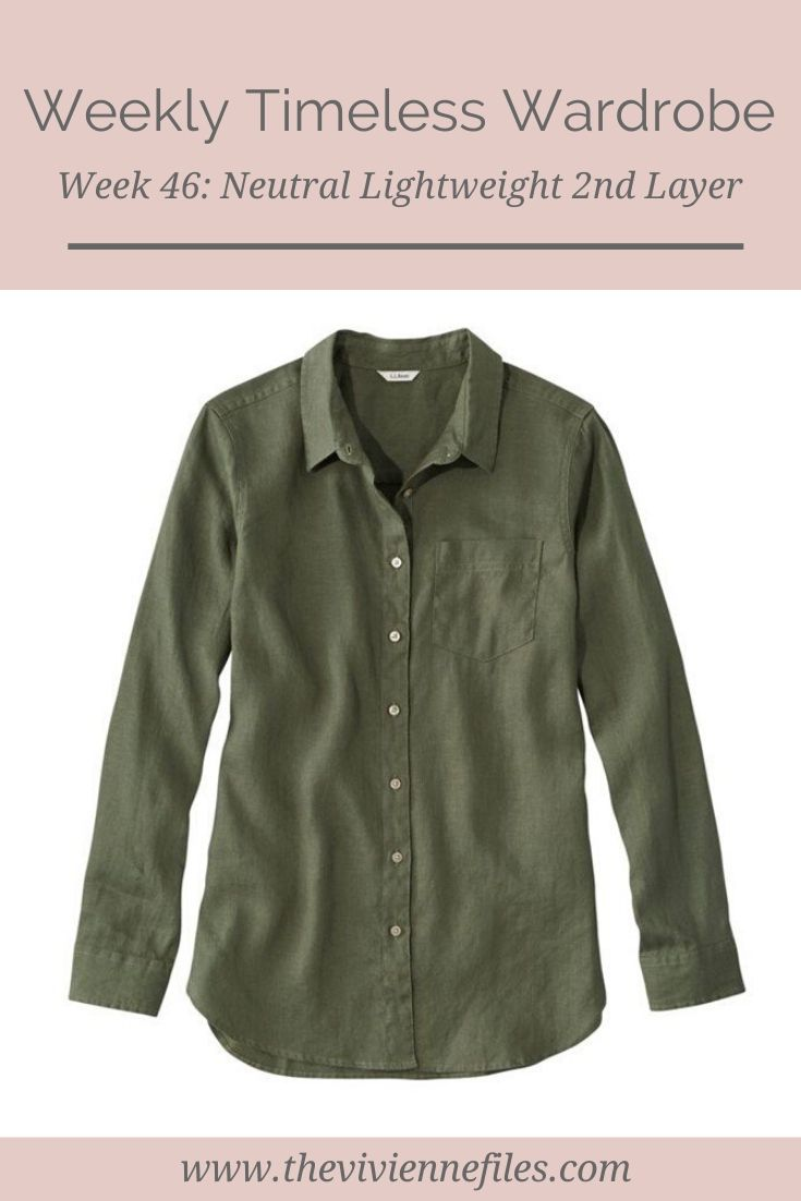 THE WEEKLY TIMELESS WARDROBE, WEEK 46: NEUTRAL LIGHTWEIGHT 2ND LAYER