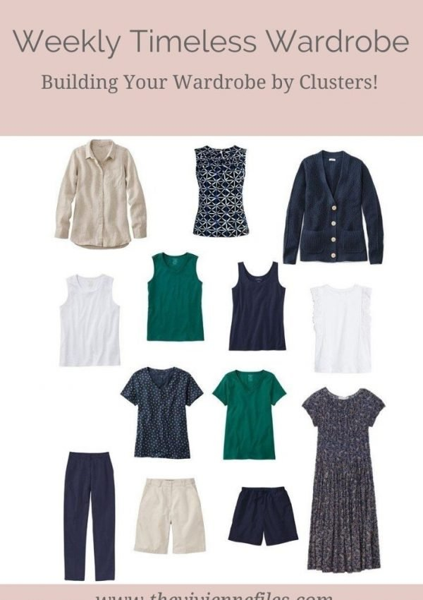 How to Build Your Weekly Timeless Wardrobe by Clusters!