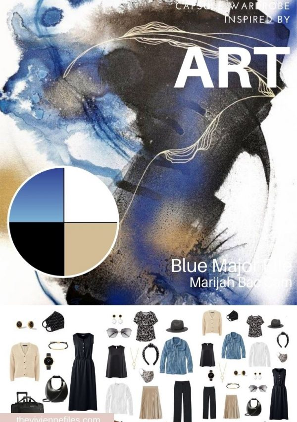 START WITH ART: BLUE MAJOR ELLE BY MARIJAH BAC CAM